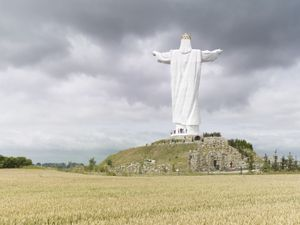 Christ the King. Swiebodzin, Poland, 36 m (120 ft). Built in 2010 © Fabrice Fouillet