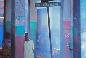 Downtown Port-au-Prince at dawn