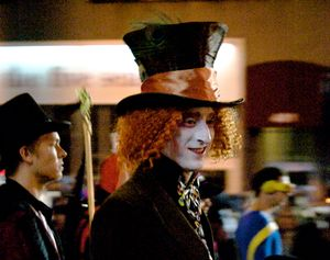 Its the Mad Hatter's party!