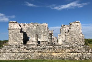 Ruins at Tulum, Mexico