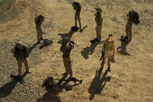 © Lodewijk Duijvesteijn Necessary Superstition: Dutch Soldiers in Afghanistan (Afghanistan, 2008)  Courtesy of Noorderlicht Gallery, Holland.