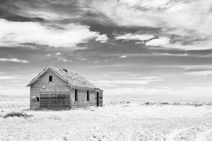Great Salt Lake farmstead (infrared)