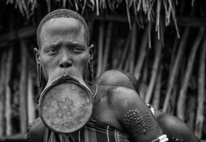 Mursi with Lip Plate