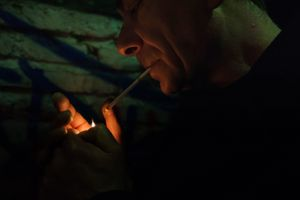 A little flame, offering the hope of a good relationship with his stepfather. © Fabio Moscatelli