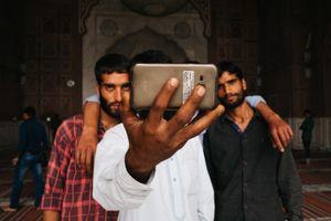 Selfie. New Delhi, Jama Majid, India, 2016