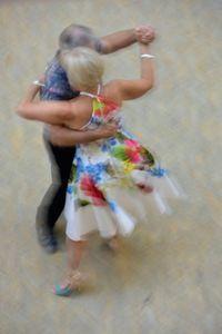Mall of Berlin, Potsdamer Platz, tango dancers, august 2018, Nr. 9
