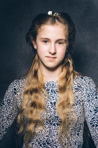 Phoebe aged 12.