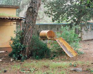 Slide, Kibbutz Yiftach, 2011