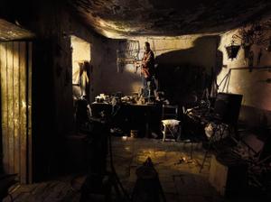 Isidro Gamarra, Blacksmith