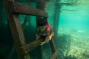 Bajau Waterpeople, Sonbury, Sulawesi, Indonesia