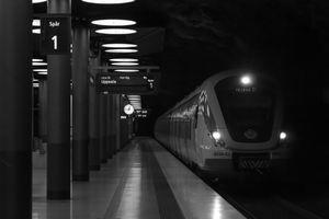 Airport train station, Stockholm