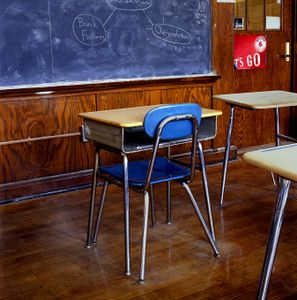 Classroom, Edison School, Brighton, Massachusetts