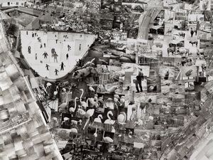 Diorama Map Bern (detail) © Sohei Nishino/Courtesy of Michael Hoppen Contemporary
