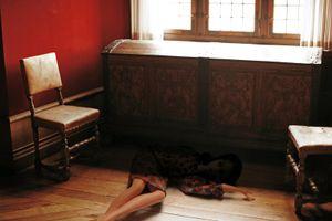 "Lie down, From The Series""Sense Of Guilt"" © Claus Lucas, 2009"