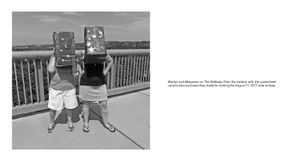 Radius: Marilyn & Maryanne with their homemade eclipse-watching camera lucidas