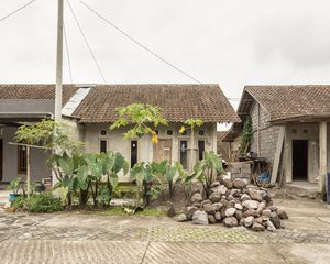 Huntap Pagerjurang village.  New village built by Indonesian government in a safer location following the destruction to original village in the 2010 eruption