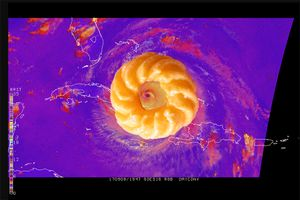 Category 5 Cruller Donut from Recipes for Disaster