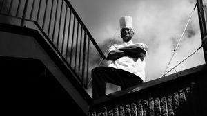 Pastry chef  Philippe Labbé