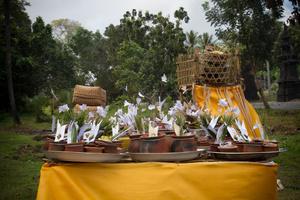 Banten (offerings). Bali, Indonesia