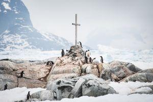 Cairn - Petermann Island, Antarctica