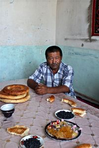 Kyrgyz man from Tajikistan who has just immigrated to Kyrgyzstan