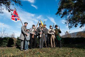 Re-enactors, Virginia Beach VA, November 2013