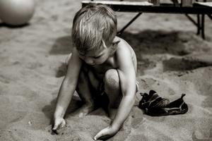 Boy Meets Sand