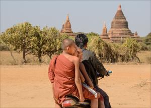 Monks on a Motorbike