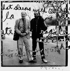 Hal Willner and Allen Ginsberg