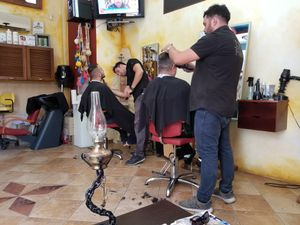 Haircut Greek Style