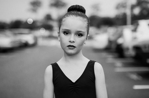 Hunter is only seven years old here but looks older to me, her outer beauty matches her inner beauty,  Somerset College Helensvale QLD Australia 2014.