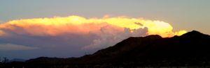 T Storm over Chiriaco Pass