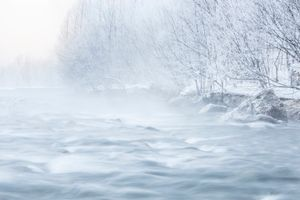 The fogy river;