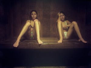 Sauna, 2008 © Laura Sackett