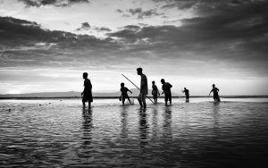 Little kids by the sea II