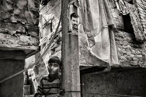 Shivananda Basti, Urban slum, West Delhi_10