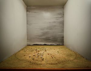 Diorama Of The Polygon Nuclear Test Site (Before The Event). Kurchatov, 2011 © Nadav Kander