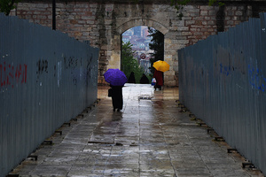 Rain in Istanbul