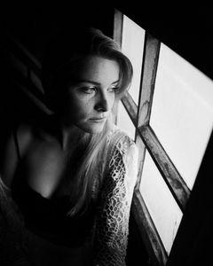 kristina in that attic window