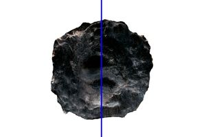 Without the world around, Black hole