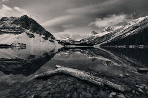 Tranquility in Black and White