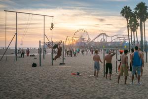 Muscle Beach, Santa Monica, CA