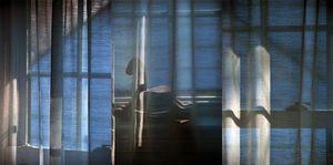 Curtain Studies 1-3 (Triptych)