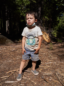 A Four Year Old Hikes