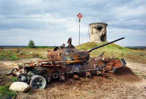 Germany East, Altengrabow. Soviet Air Force bombing range.