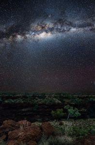 Milky Way above Joffre Gorge