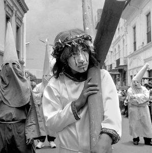 Défilé religieux (La Paz, Bolivie)