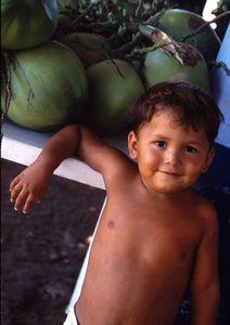 Hispanic melon boy