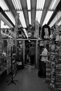Street shop in New York