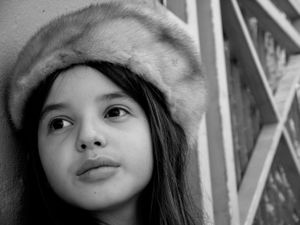The Russian girl.